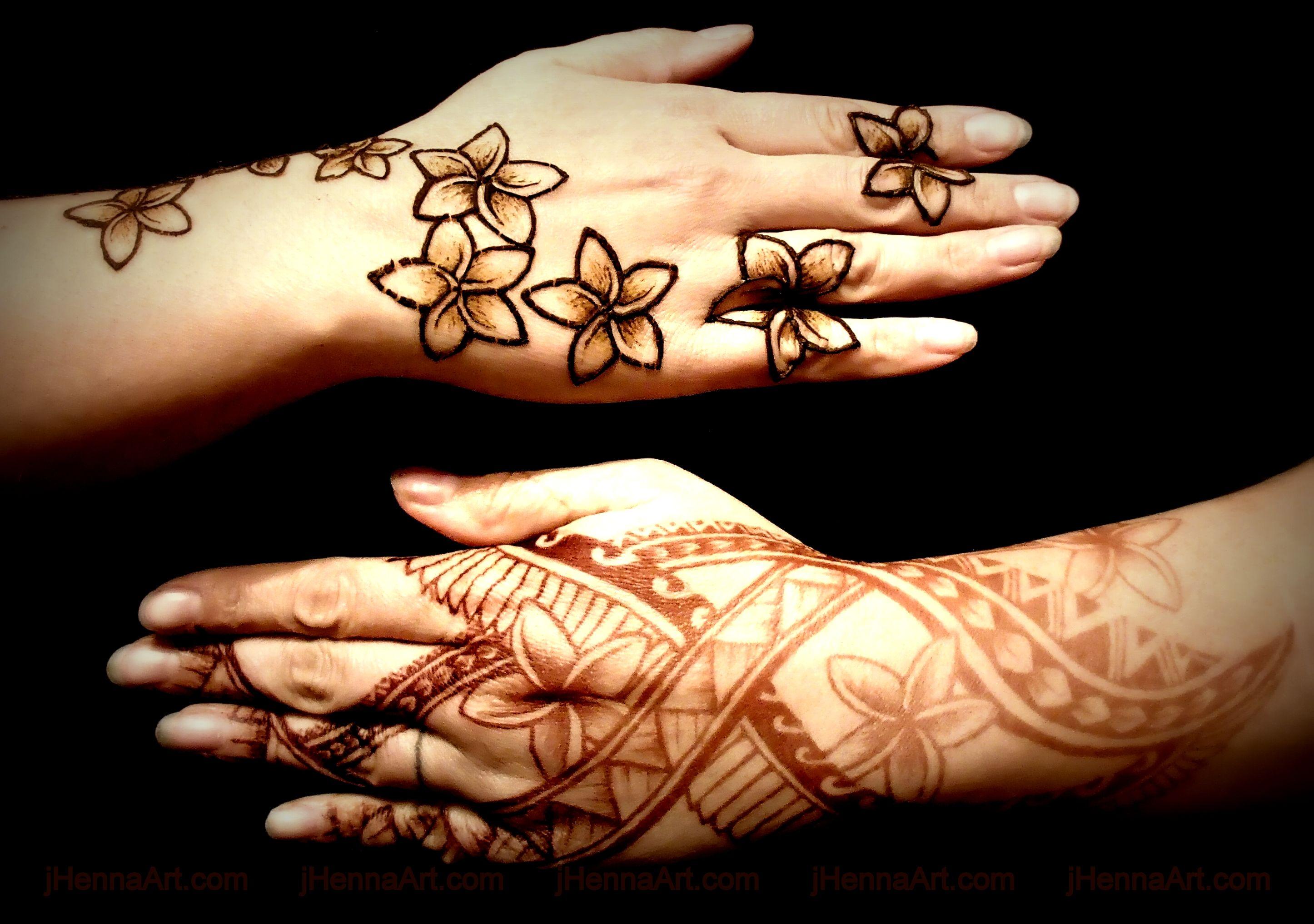 Polynesian Henna Tattoo: Polynesian Henna Designs By J.Henna (With Images)