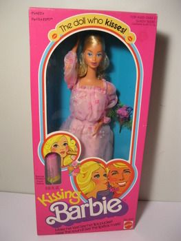 Kissing Barbie Had A Lipstick And When You Pressed A Button On