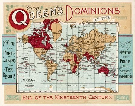 British Empire Map 1900.The British Empire 1900 The Queen S Dominions At The End Of The