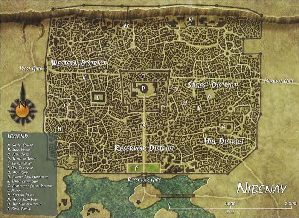 Athas World Map.Nibenay City State In 2019 Rpg Maps Pinterest Fantasy City