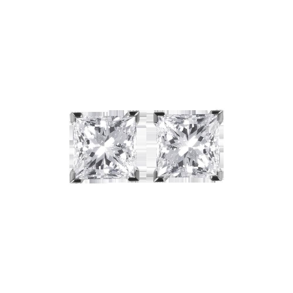 551c01612f8 Brincos diamante Cartier