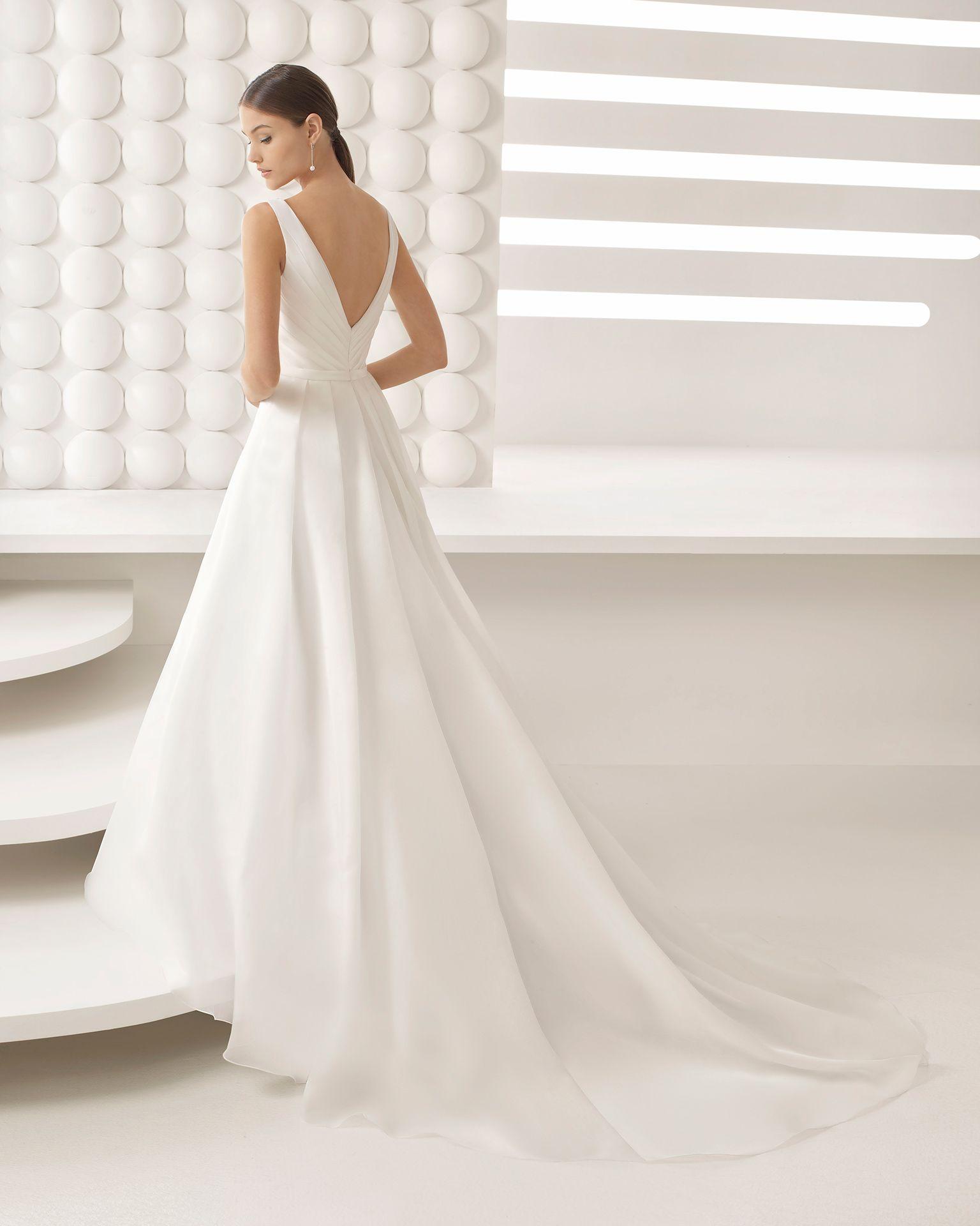 Ziemlich Vestido Novia Clasico Bilder - Hochzeit Kleid Stile Ideen ...