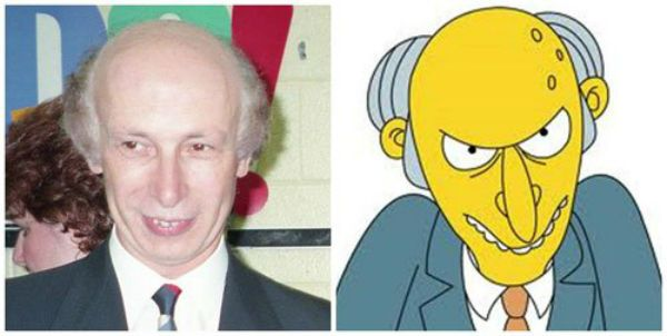 the simpsons in real life - 16 pics   http://weknowmemes.com/2014/07/the-simpsons-in-real-life-16-pics/