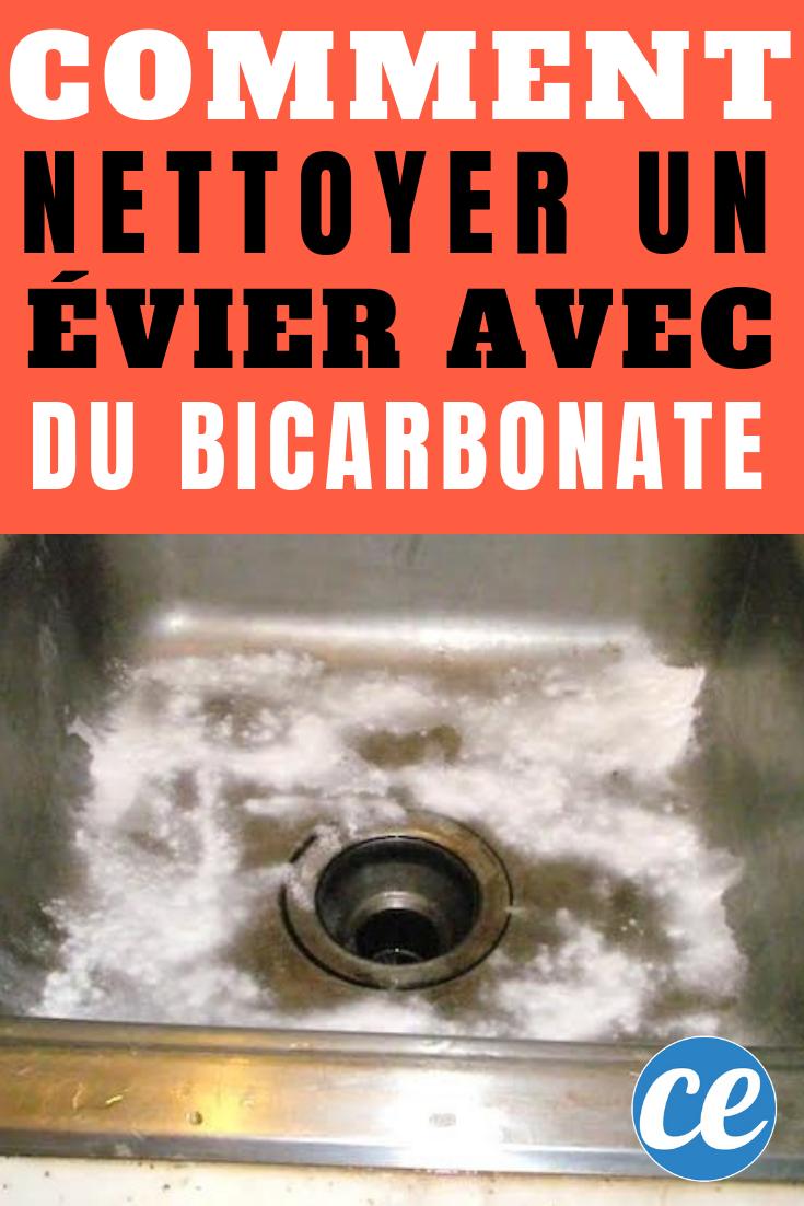 Nettoyer Evier Resine Tache comment nettoyer facilement son Évier avec du bicarbonate