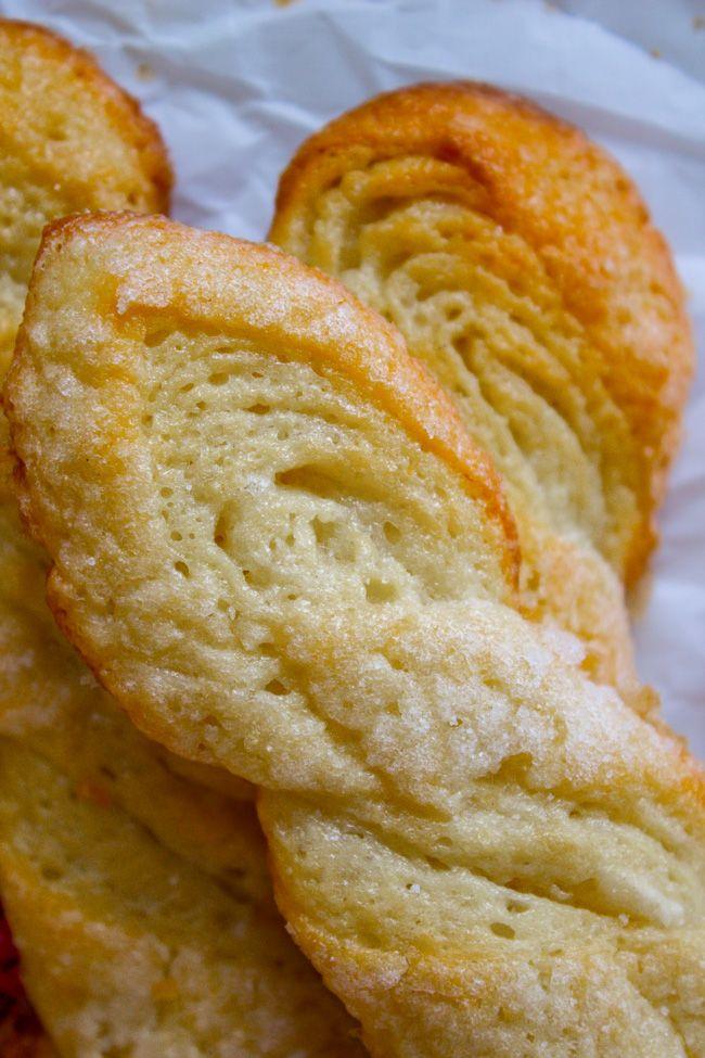 Swedish Sour Cream Twists (Layered Yeast Cookies) from The Food Charlatan!! #sourcream