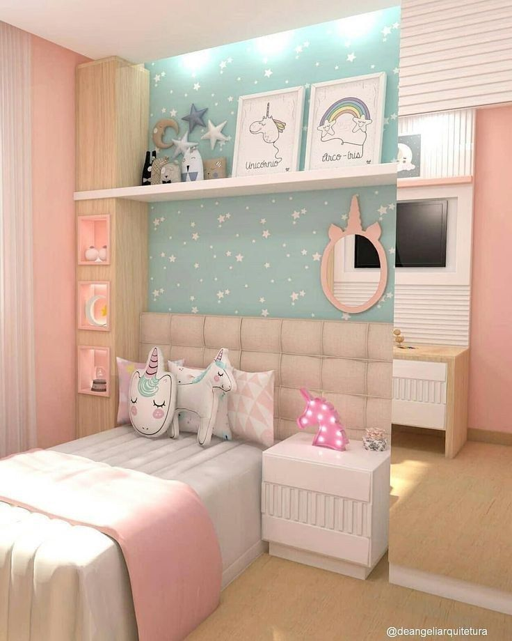 39 fabulous pink girls bedroom ideas to realize their dreamy space 1 #girlsbedroom