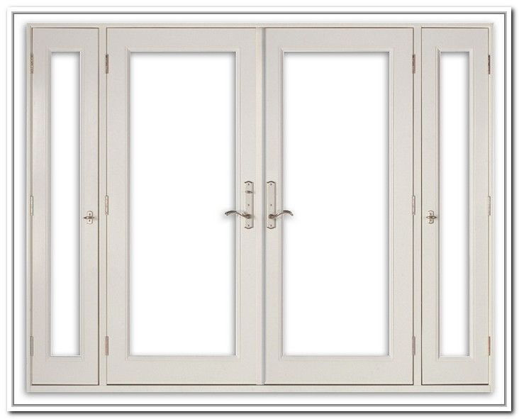 French Doors With Sidelights Dimensions