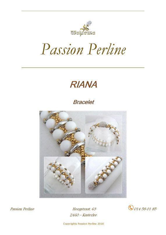 Schéma bracelet RIANA par PASSIONPERLINE sur Etsy https://www.etsy.com/fr/shop/PASSIONPERLINE?ref=hdr_shop_menu