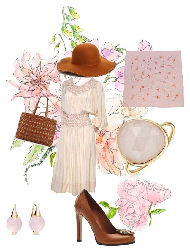"""""""Day Wear"""" by jamesj0618 on Polyvore featuring Gucci, Kate Spade, Bling Jewelry, Pomellato, Phase 3 and Hermès"""