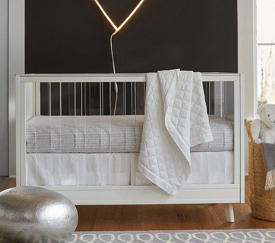 Sloan Acrylic Convertible Crib Convertible Crib Crib