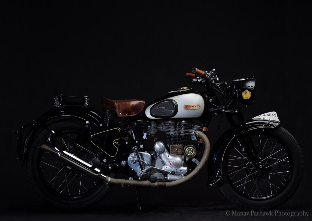 Vintage Enfield Reimagined Motorcycle Trip Olds