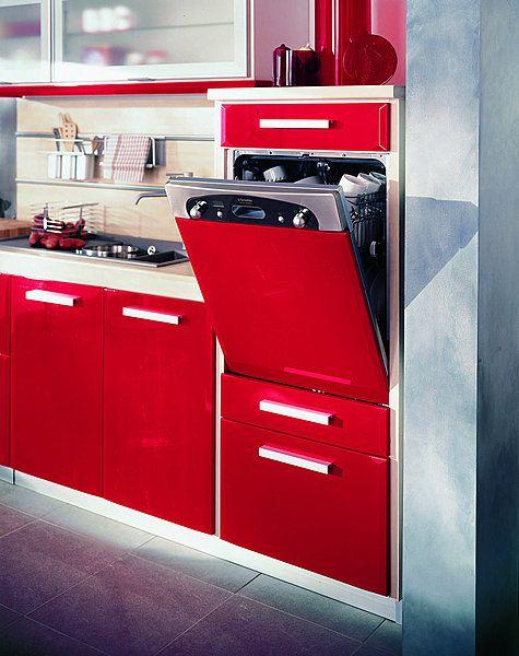 Plus besoin de se pencher pour charger ou vider le lave-vaisselle - Hauteur Plan De Travail Cuisine Ikea