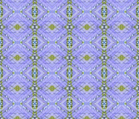 Purple Dawn Squared fabric by susaninparis on Spoonflower - custom fabric