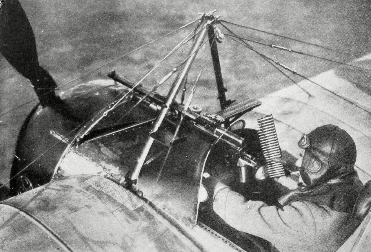 Morane-Saulnier N cockpit