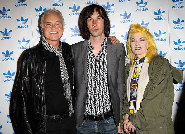 August 6, 2012 w/ Bobby Gillespie & Pam Hogg, The Stone Roses - Secret Gig. (Michelle W - Thanx for the date - Essay)