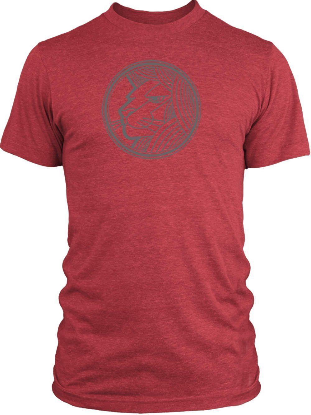Big Texas Sign of Leo (Grey) Vintage Tri-Blend T-Shirt