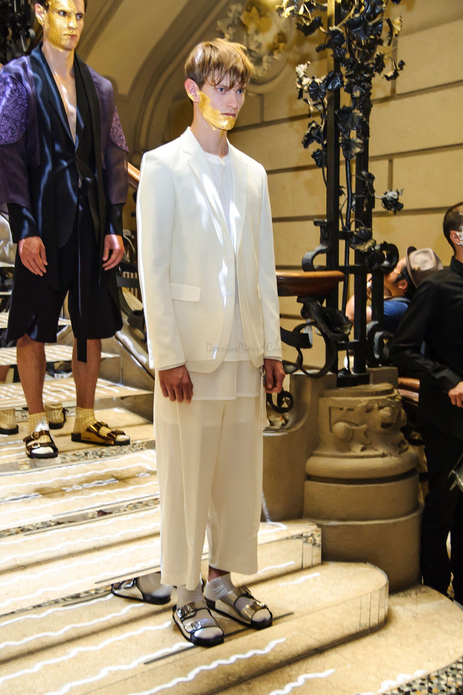 D.Gnak Spring Summer 2016 Primavera Verano Collection #Menswear #Trends #Tendencias #Moda Hombre- Milan Fashion Week - D.P.