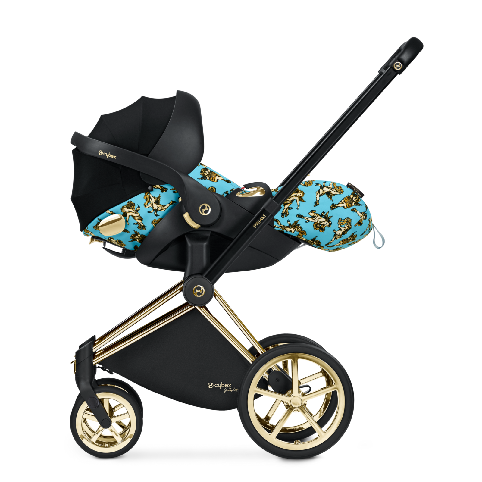 CYBEX by Jeremy Scott Cloud Q on PRIAM travel system