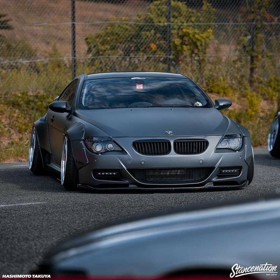 Bmw E63 M6 Grey Widebody Bmw Bmw 6 Series