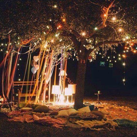 Cet extérieur est magique, bonne nuit Les #decoaddicts ...
