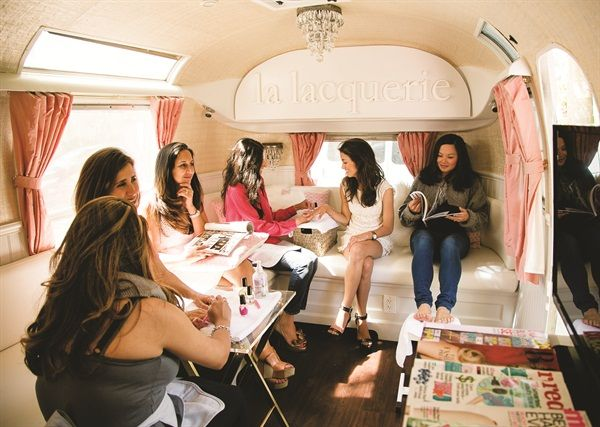 This Mobile Nail Salon Offers Convenience and Hygiene ...