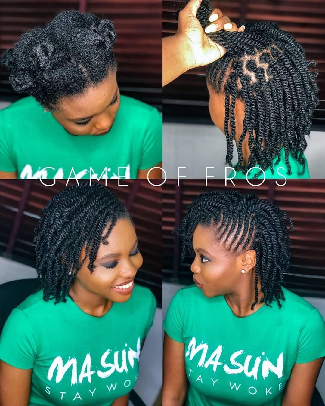 """TeamNatural on Instagram """"Two Strand Twists by game_of"""