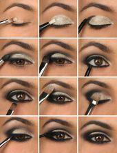 ¿Cómo puedes aplicar sombra de ojos para ojos marrones para hacerlos más atractivos?