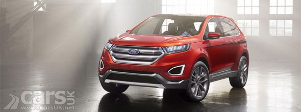 New Ford Edge Concept Previews Larger Ford Suv For Europe Los
