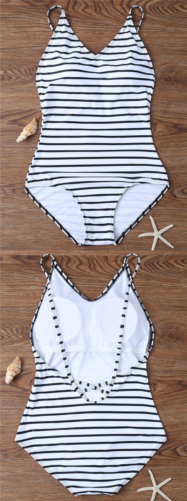 one piece swimsuits modest white bikini summer fashion…