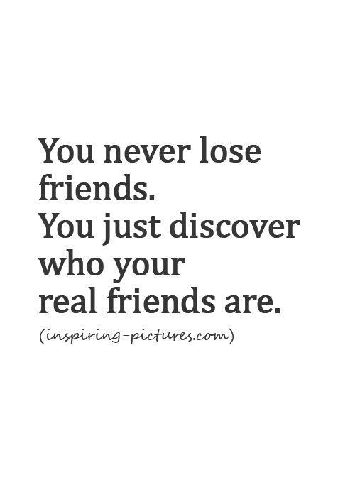Iv'e never lost a friend