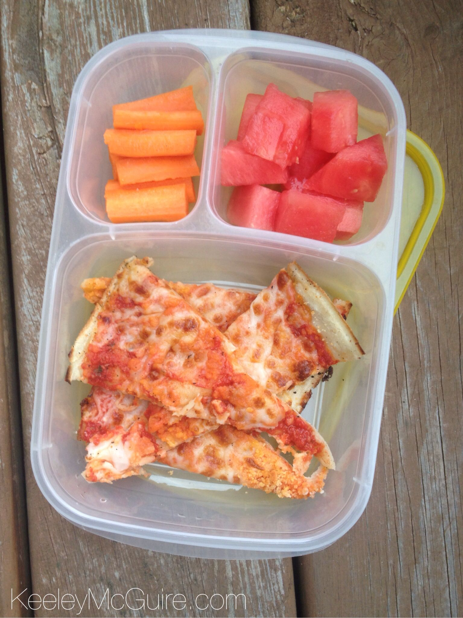 leftover cold pizza is the best easy lunch idea healthy lunch