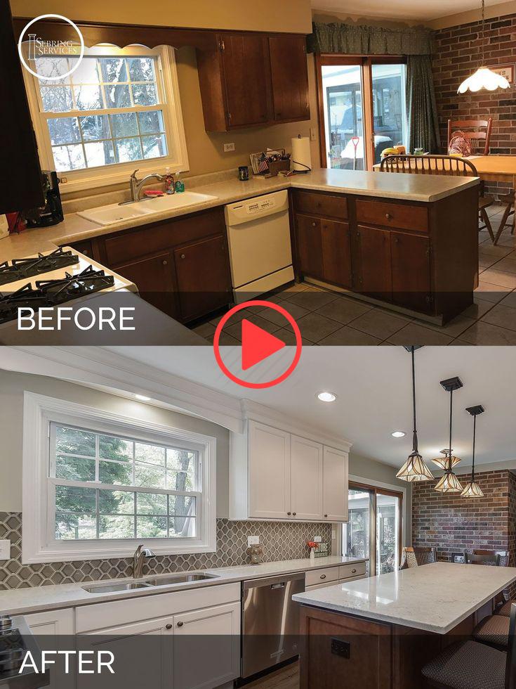 Kitchen Islands makeover before after #kitchenislandideas #kitchenislandideasdiy... - Best Home Decors #homestagingavantapres