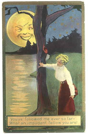 It S Only A Paper Moon In 2020 Moon Artwork Vintage Moon Moon Illustration