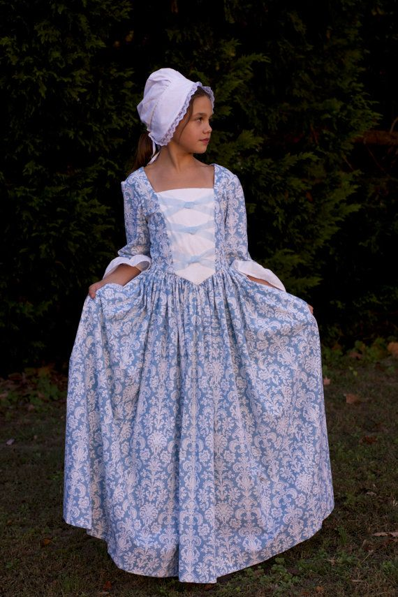 Girls Colonial Dress   Colonial, Sweet dress and Size 10