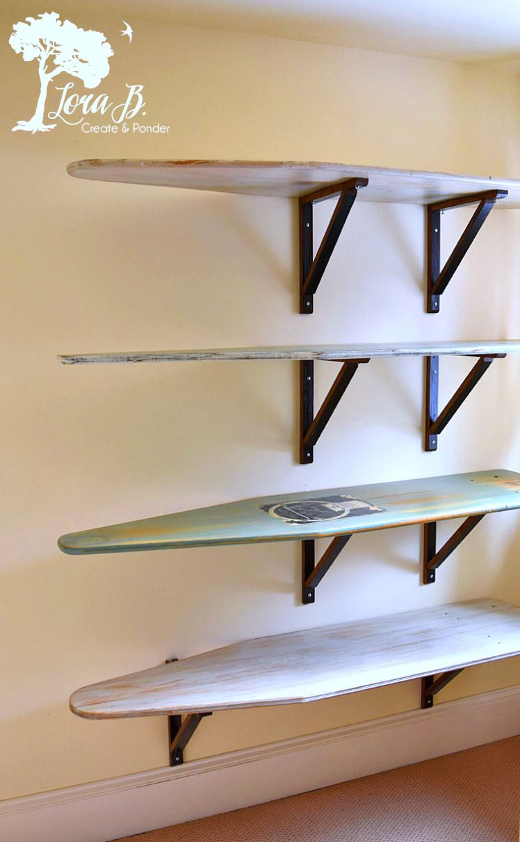 Diy Salvaged Junk Projects 365 Vintage Ironing Boards Funky  # Muebles Dayer Esperanza