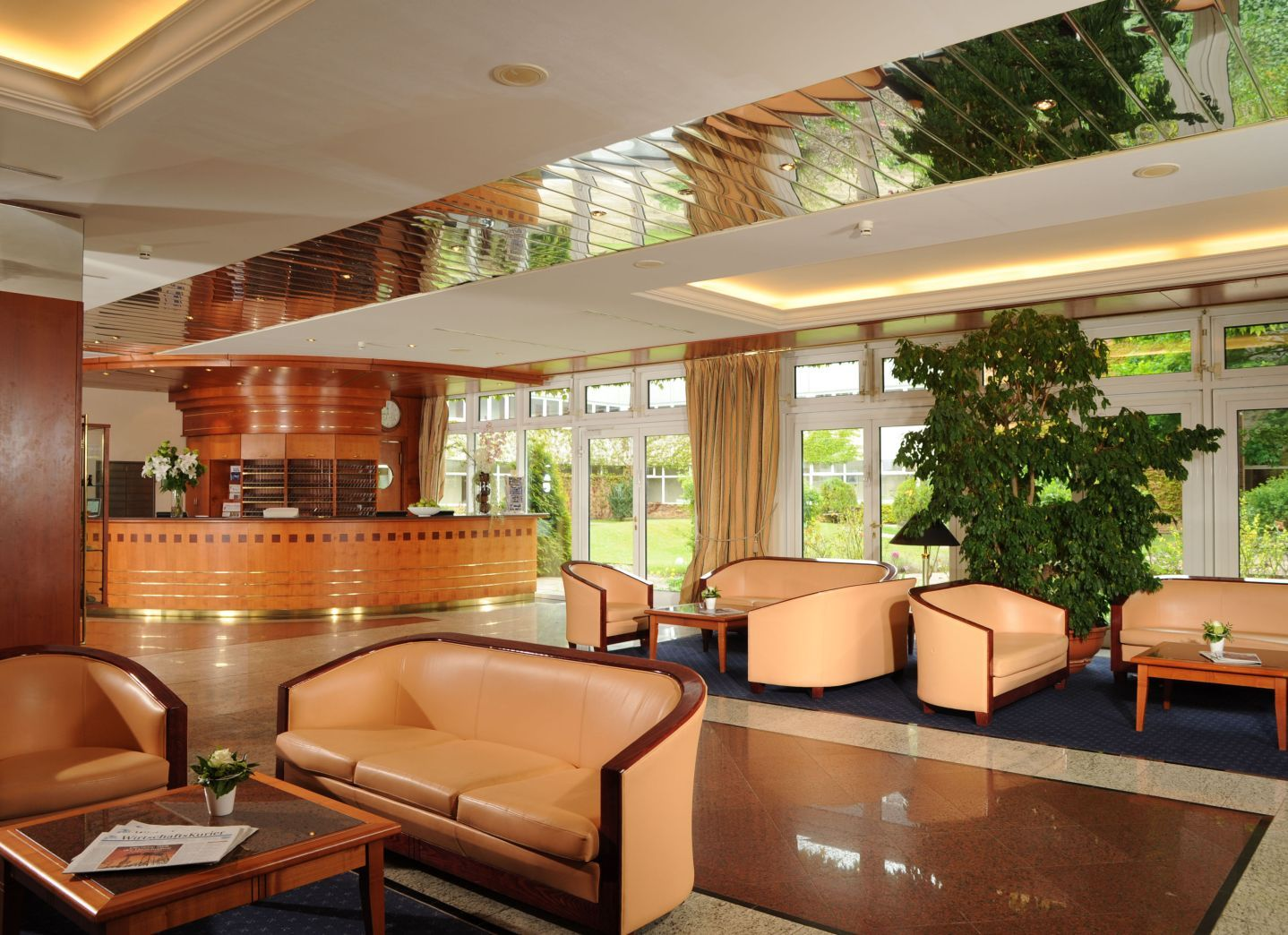 The 4stars Hotel Müggelsee Berlin is idyllic situated