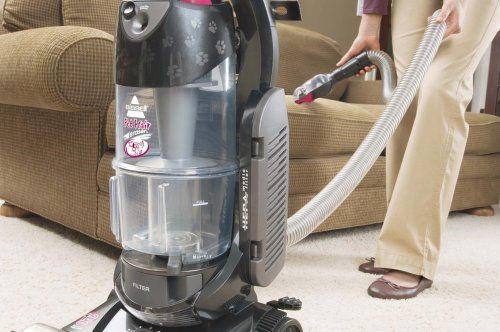 pet vacuum bissell eraser cyclonic canister upright dual