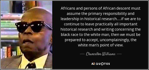 Quote Chancellor Williams Noire Scholars Innovators Mens