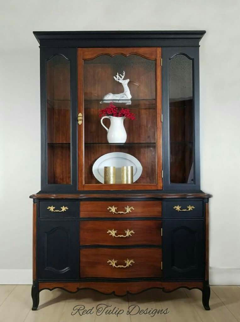 Pin By Rosa Martinez Martinez On ساخت قدیمی Cabinet Woodworking Plans China Cabinet Furniture Makeover