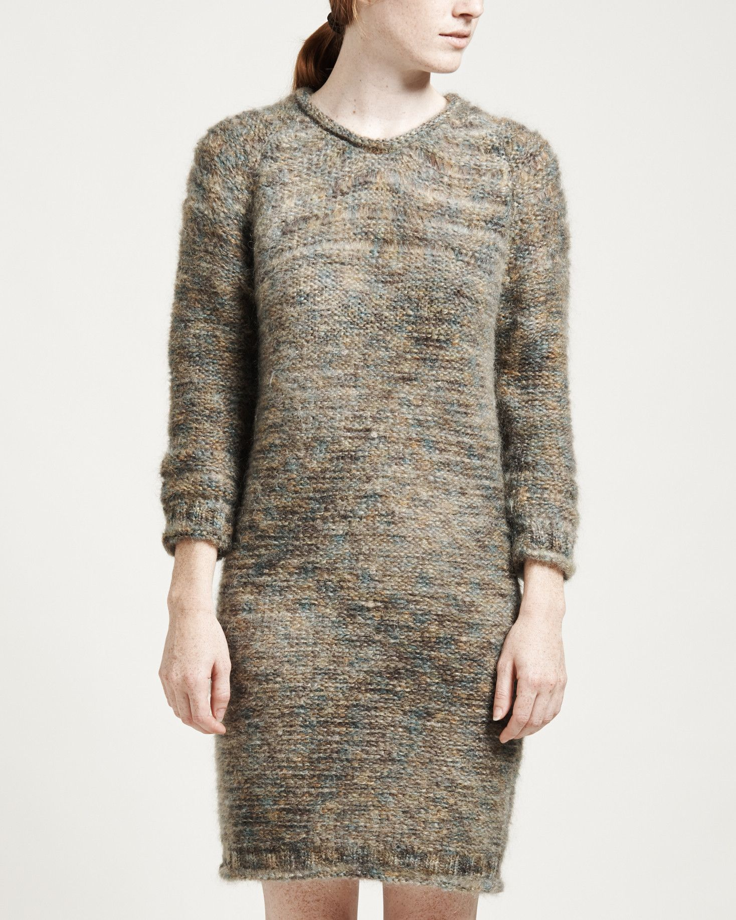 Amber Mohair Sweater Dress