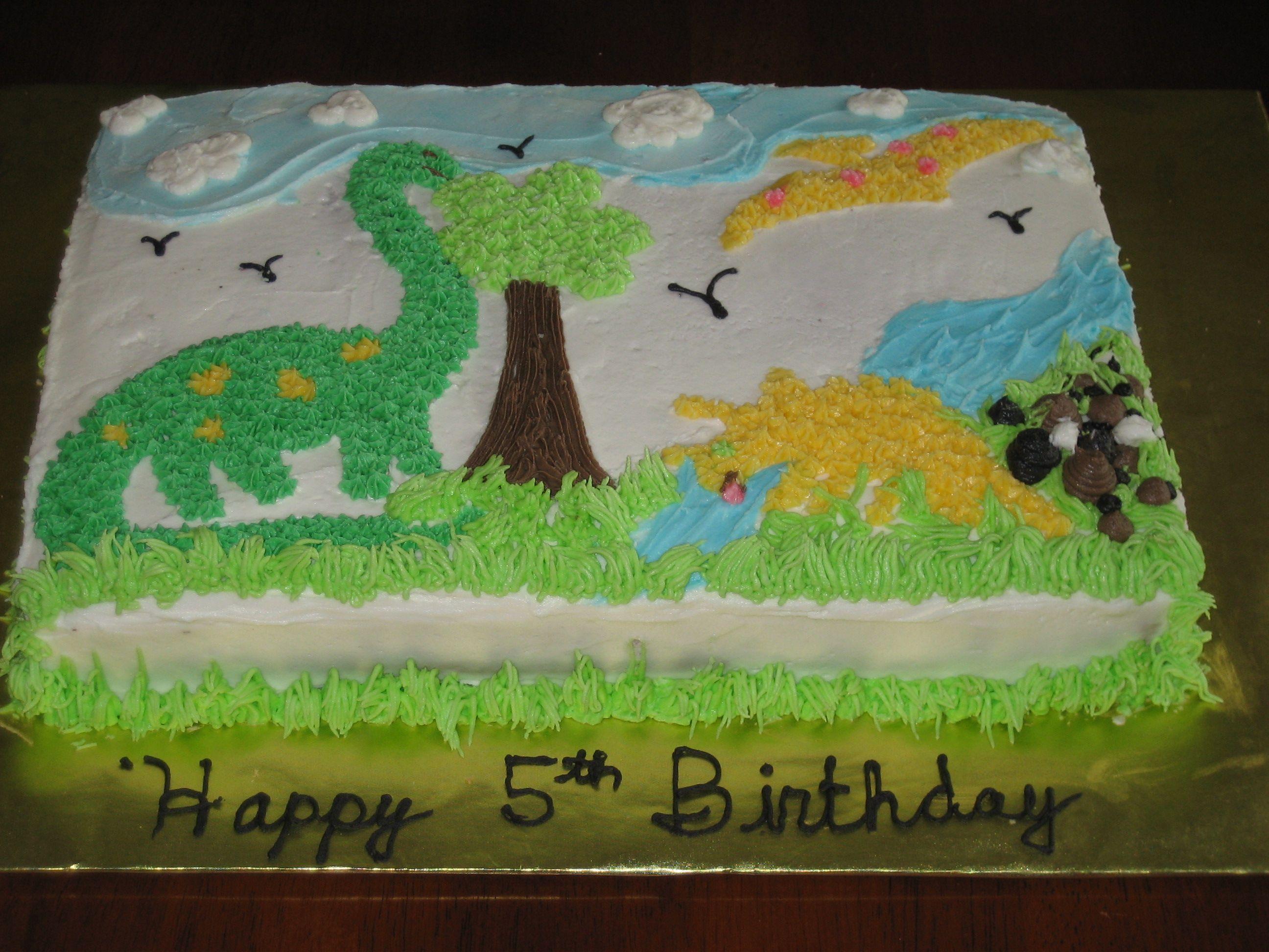 Austins Dinosaur Cake