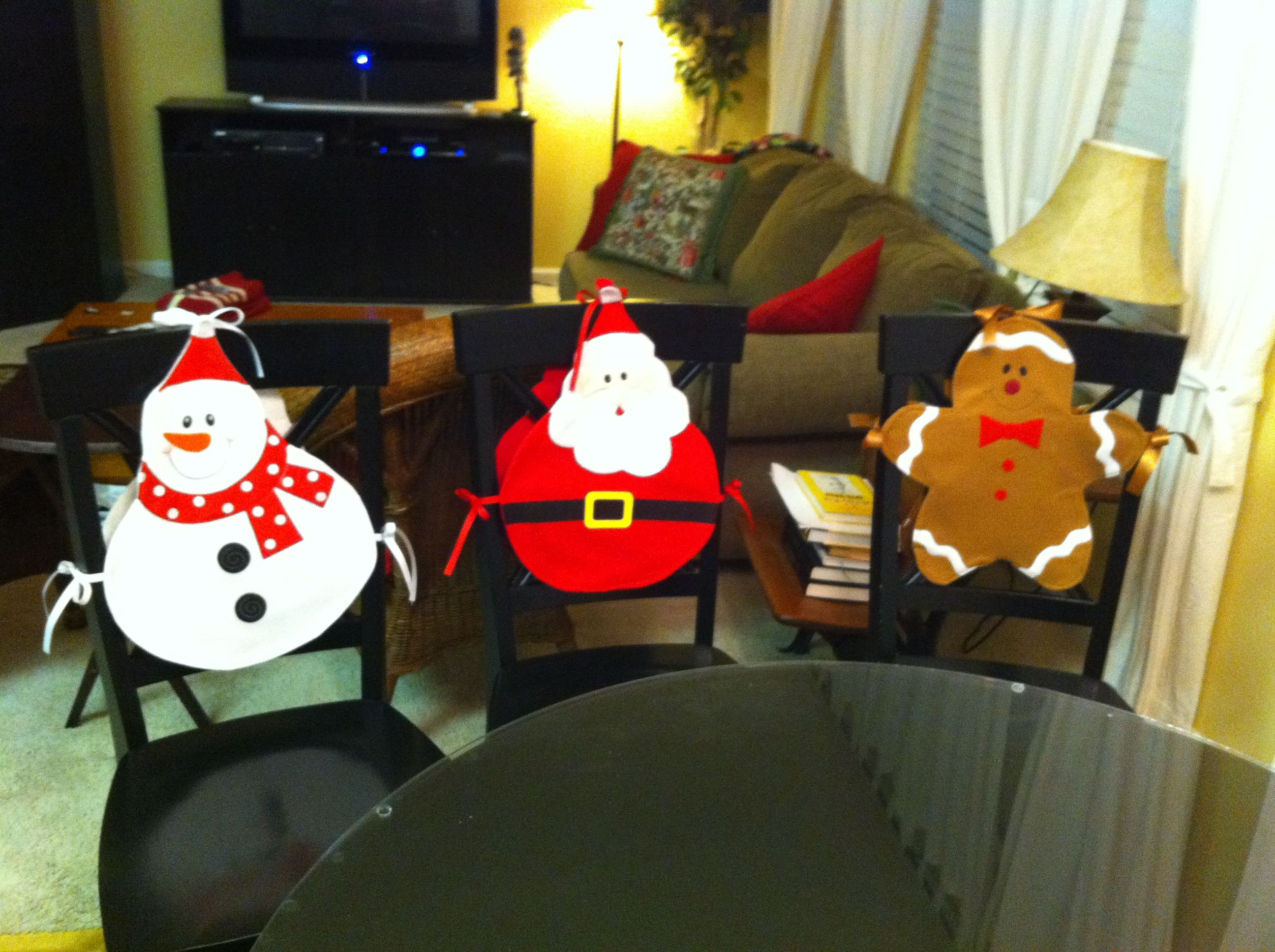 kirklands christmas chair covers disney table and set kid crafts pinterest
