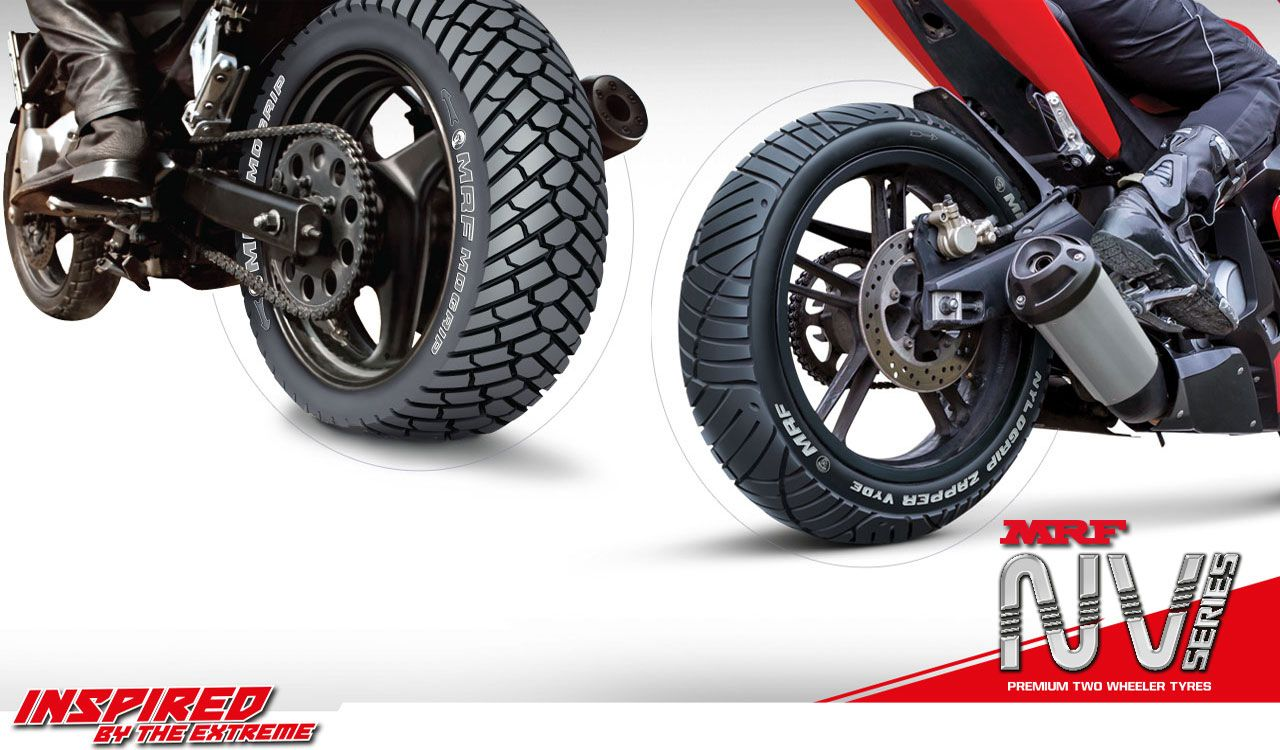 New Nv Series Bike Tyres By Mrf Tyres Bike Tire Tire Tire Manufacturers