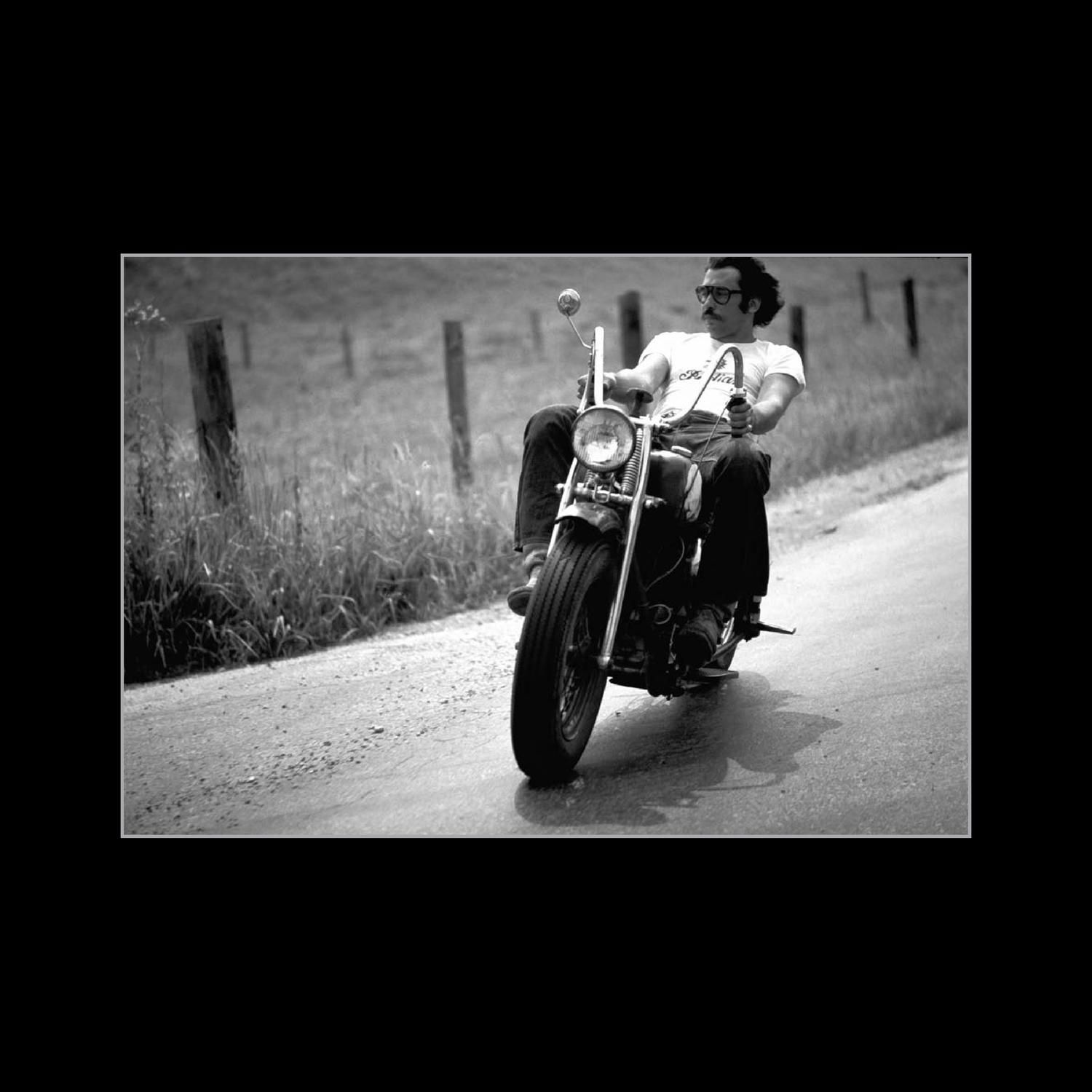 Living the Life Biker graphy poetry book