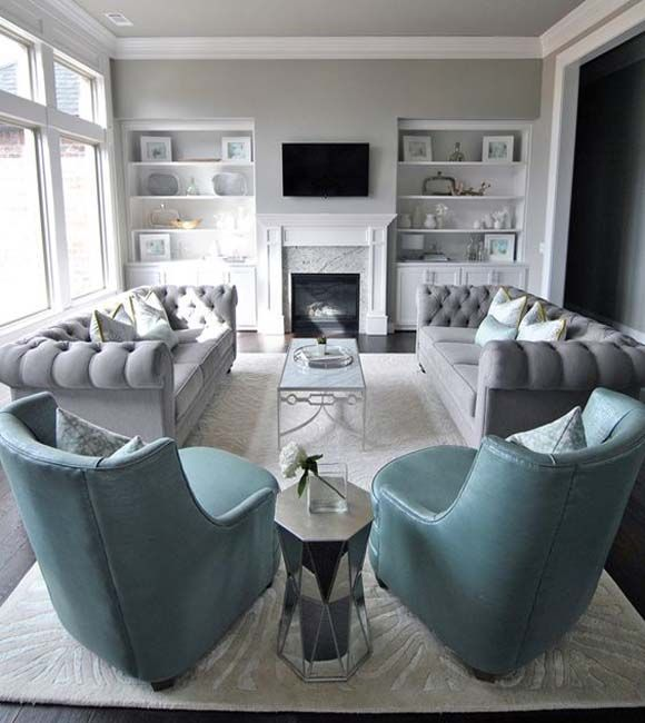 Furniture placement for living room | Casa Vale L. | Idee per ...