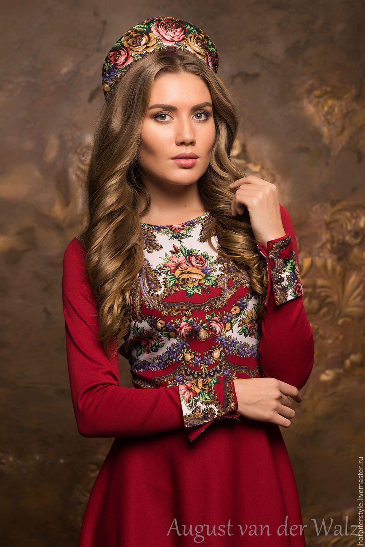 Женская одежда русская мода