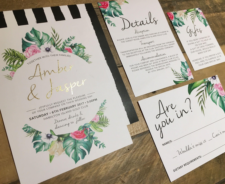 Samoan Wedding Invitations - Wedding Invitations