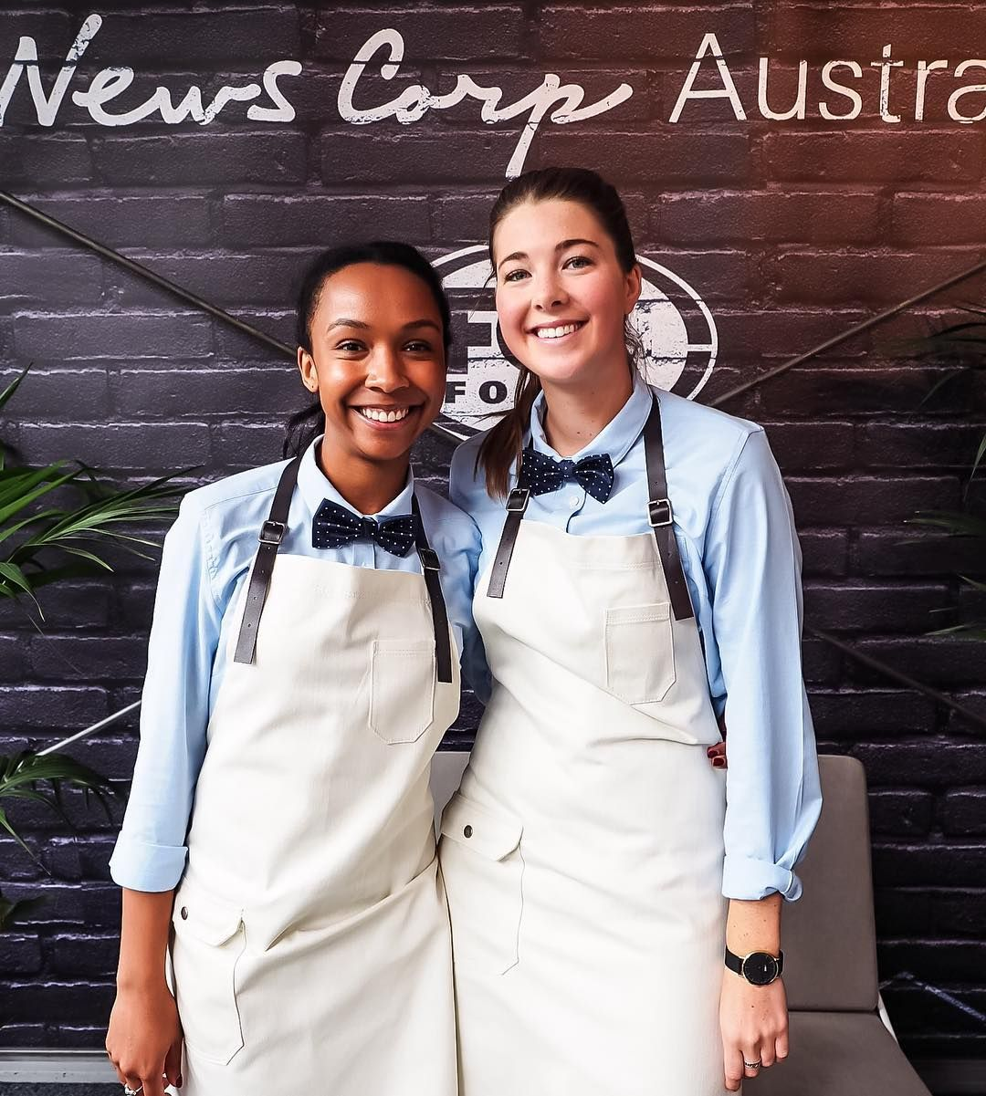 White apron melbourne - The Big Group Melbourne Wearing Cargo Crew