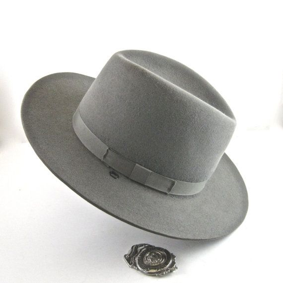 59654179c Vintage 3XXX Beaver Sheriff's Hat by threadsandpins on Etsy, $34.95 ...