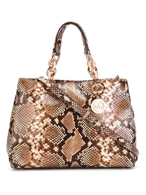 e1389a26b Compre Michael Michael Kors Bolsa modelo 'Cynthia' em Boutique Mantovani  from the world's best independent boutiques at farfetch.com.
